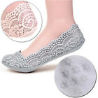 Women Cotton Lace Socks Antiskid Invisible Liner Socks Low Cut Socks Boat Nice