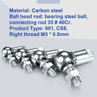 Carbon Steel Ball Head End Bearing Rod Connecting Rod 35 # 40Cr Right thread