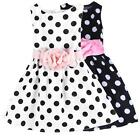 GIRLS Baby Toddler Kid's Sequins Pageant Princess Party Wedding Dress Summer