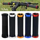 1 Pair Double Lock-on Mountains Bike Bicycle Cycling Handle Bar Cyclist Grips BO