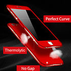 Thermorytic 360° Full Body Cover Case +Screen Protector For iPhone 6 6s 7 8 Plus