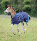 46 NEW Shires Tempest  Foal Middleweight 200g Turnout Rug - With Belly Flap