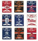 Vintage Style MLB Embossed Obey The Rules Heavy Duty Metal Sign on Ebay