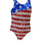Reflectionz Girls Patriotic Leotard Sizes 4, 6, 8, 10
