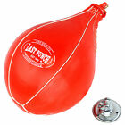 LAST PUNCH Synthetic Leather Boxing Training MMA Speed Bag Ball w/ Swivel Mount