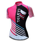 Teleyi Womens Cycling Jersey Bike Bicycle Clothing Tops Ropa Ciclismo Sportswear
