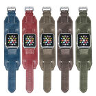 Leather Wrist Bands Replacement Bracelet Strap For Apple Watch iWatch 1 2 GEN