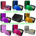 Waterproof Aluminum Rfid Travel Card Wallet Holder Case Cardholder Box  Uk