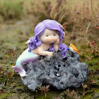 Resin Miniature Mermaids Fairy Garden Figurines Art Works Fish Tank Home Decro