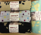 DOG PUPPY BLANKET SMALL FLEECE BED SUPER SOFT ALSO FOR CATS KITTENS 4 COLOURS