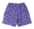 Vineyard Vines Men's Bathing Suit Shrimp, Blue/Red