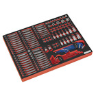 Sealey TBTP07 Superline PRO Premier Platinum Tool Tray Bits & Sockets 177pc