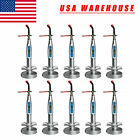 10pcs USA Dental Wireless Cordless LED Curing Light Cure Lamp dentist 5 Colors