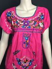 WOMANS PEASANT EMBROIDERED MEXICAN BLOUSES ASSORTED COLORS AND SIZES E