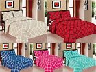Geometric 3-PC Quilted Bedspread Bed cover Coverlet Many Colors All sizes Sale image