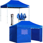 Ez Pop Up Party Canopy 8x12 Commercial Outdoor Instant Sports Tent W/N Zip Walls