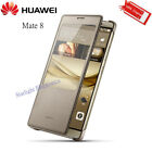 Original Huawei MATE 8 Case Flip Visual Window Leather Cover Protective Mobile