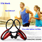 UK Stock Bluetooth Headphones V4.1 In-Ear Wireless Earphone for Running with Mic