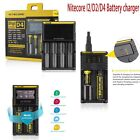 Nitecore D4 Digicharger Battery Charger LCD Display Screen Li-ion LiFePO4 Ni-MH