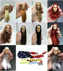 "1/6 scale wigs women red white gray color for phicen kumik 12"" female head ❶USA❶"
