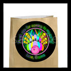Bowling Birthday Party Favor Goody Bag STICKERS Personalized Labels ONE SHEET