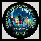 Hotel Transylvania 2 Birthday Party Bag STICKERS Personalized Labels 12 or 6