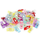 50/100PCS CLOVER WONDER CLIPS FOR CRAFTS QUILTING SEWING KNITTING CROCHET HONEST
