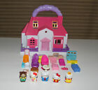 Blue Box Sanrio Hello Kitty Pink House Carry Along, Furniture, Figures, Rare