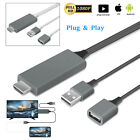 Lightning Apple AV HDMI Cable HDTV Digital TV Adapter for iPhone 6s 7 Plus/iPad