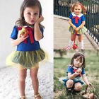 Newborn Infant Toddler Baby Girl Tutu Romper Bodysuit Jumpsuit Outfits Clothes