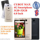 4100mAh 32GB CUBOT 3G ECHO 4G MAX Mobile 3GB 13MP Android6.0 OctaCore Smartphone