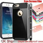 Film+Metallic Finished Dual Layered Shiny Hard Back case cover for iphone 7plus