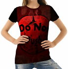 Do Not Push Womens T-Shirt Tee wb1 acr43087