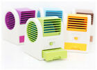 Mini Cooling Fan USB Battery Operated Portable Bladeless Air Conditioner Cooler