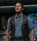 Chris Pratt Owen Grady Jurassic World Leather Vest - Father's Day Offer !!!