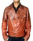 THE AVIATOR LEONARDO DICAPRIO BROWN LEATHER JACKET - Best Deal