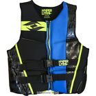 Hyperlite Men's Prime Neo Vest, Black/Blue/Lime