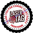 Laser Tag stickers, 3 Sizes - For Sweet Cones etc Ref MX06-28
