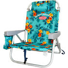 Tommy Bahama Backpack Cooler Folding Beach Chair w/Towel Bar VARIOUS COLORS