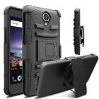 For ZTE Prestige 2 N9136 Shockproof Hybrid Clip Holster Case Armor Phone Cover