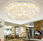 Modern simple fashion LED crystal lamp romantic luxury restaurant ceiling lamps