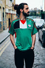 Palestine Football Jersey - White Green Black Football Shirt National Country