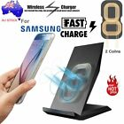 For Samsung Fast Charger Wireless Phone Stand Charge Pad Charging S7 S8 S6 Edge