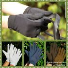 COTTON PIMPLE RIDING SHOWING GLOVES ALL SIZES NAVY BROWN BLACK OR WHITE