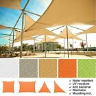Sun Sail Shade Garden Canopy Sun Awing Cover Waterproof Patio Sunscreen Large