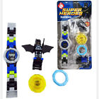 *NEW* DC Marvel Super Heroes Mini figure Watch Kids Children Birthday Party Gift