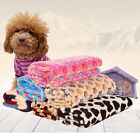 Pet Dog Blanket Fleece Fabric Mat for Cat Puppy Kitty Air conditioning blanket