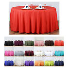 """120"""" Round Polyester Tablecloth"""