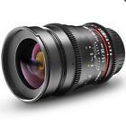 Walimex pro 35mm T/1.5  wide angle lens for Nikon F camera D850 D810 D800 D7100