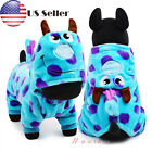 NEW Puppy Pet Small Dog Winter Warm Cartoon Clothes Jumpsuit Hoodie Coat Apparel